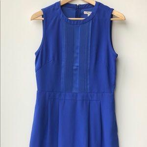Madewell blue sleeveless dress